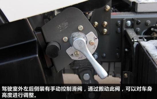气囊空气弹簧和高度控制阀安装使用说明书图片